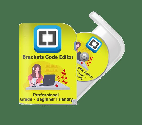 Brackets Code Editor Training Course eCover Image Optimized