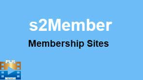 s2Member WordPress Membership Site Creation Video Training